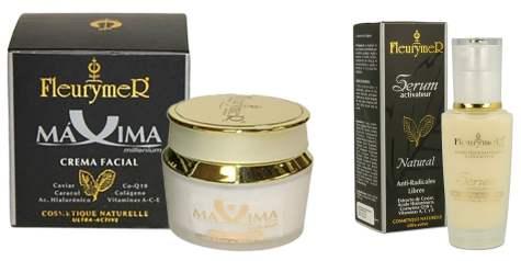 Crema y sérum de caviar