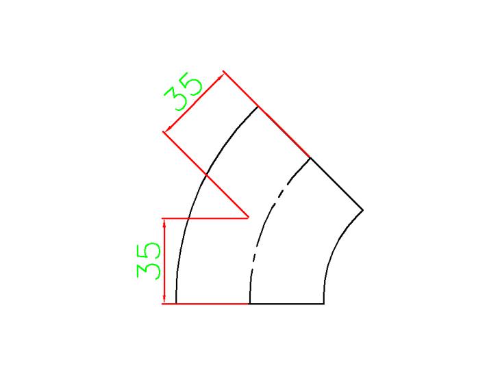 2 Inch Elbow 45