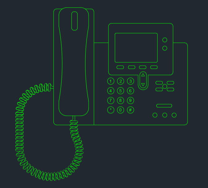 Ip Phone Autocad Free Cad Block Symbol And Cad Drawing