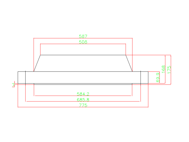 weld neck flange 20 Inch Class 400