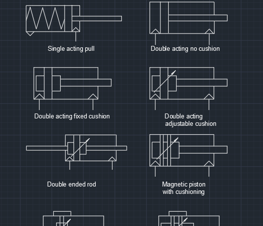 Pneumatic Autocad Free Cad Block Symbols And Cad Drawing