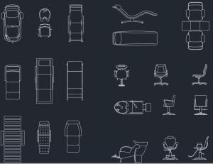 furniture for beauty salon