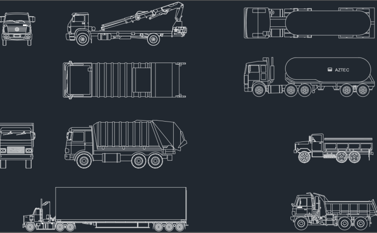 buses | | CAD Block And Typical Drawing For Designers