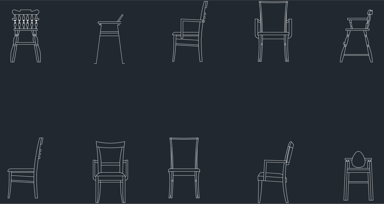 Office chair autocad block - Wooden Chairs Cad Blockswooden Chairs Cad Blocks Free Cad Block And Autocad Drawing