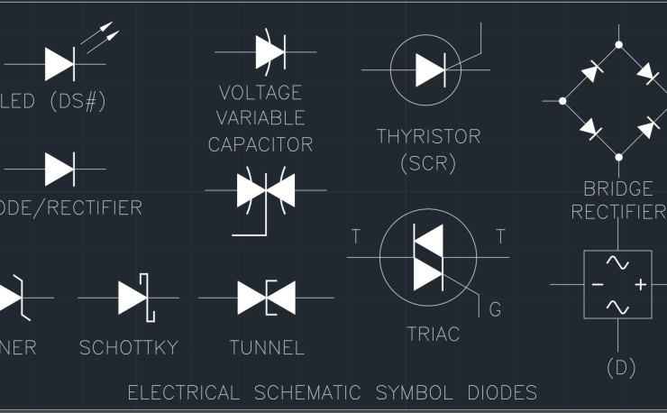 Rectifier Autocad Free Cad Block Symbols And Cad Drawing