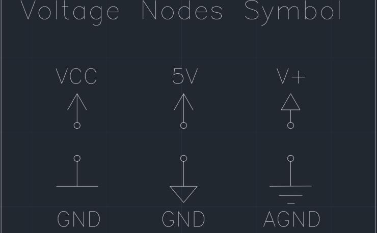 Voltage Nodes Symbol