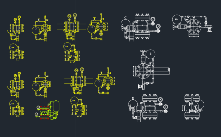autocad how to draw a fire hydrant