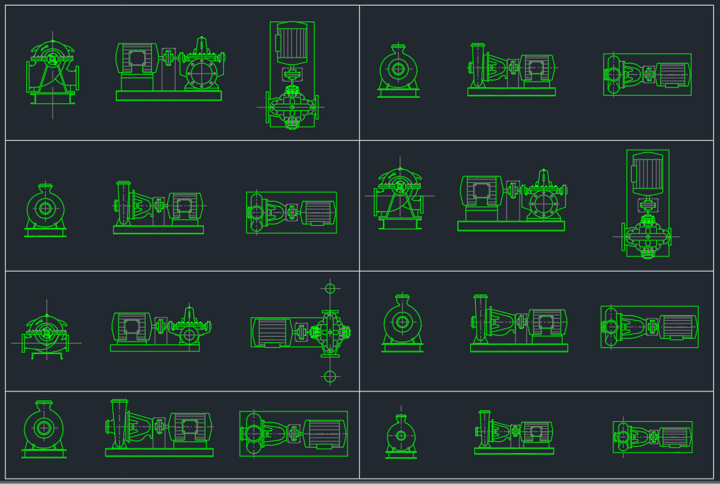 Suction Pumps Free Cad Block Symbols And Cad Drawing