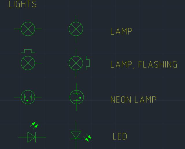 Light Symbol Autocad Free Cad Block Symbol And Cad Drawing
