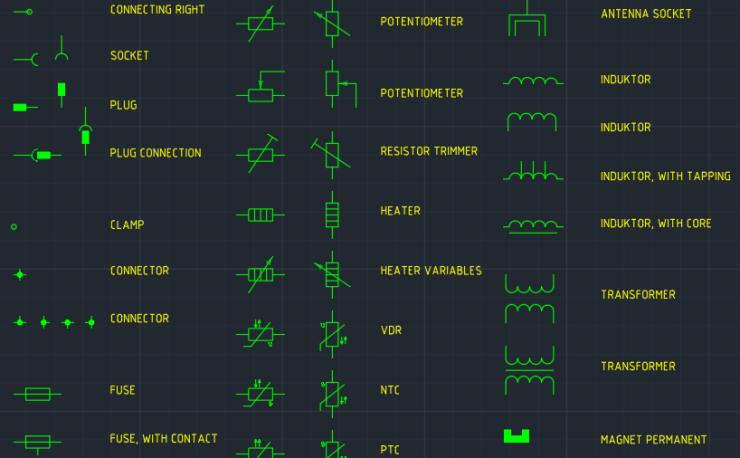Transformer     AutoCAD Free CAD Block Symbols And CAD Drawing
