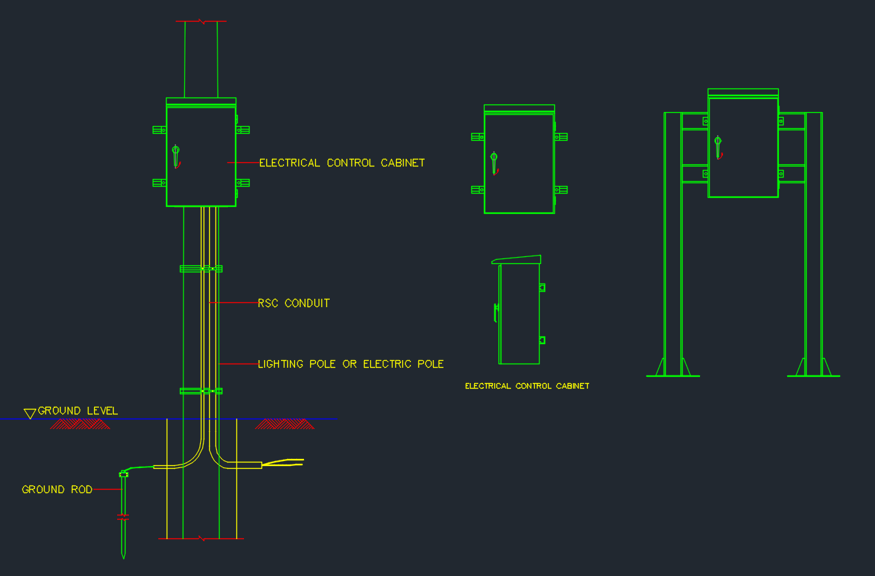Electrical Box Free Cad Block Symbols And Cad Drawing