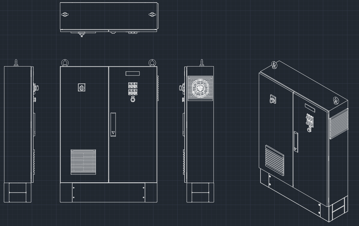 Electrical Outlet Cad Drawing Using