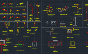 Electric Pole     Free CAD Blocks And CAD Drawing