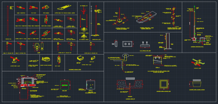 Lightning Rod Autocad Free Cad Block Symbols And Cad