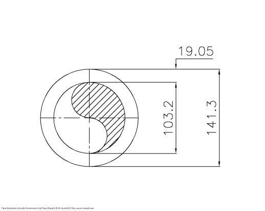 Schedule XXS Pipe 5 Inch DN125