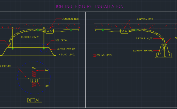 Electrical Abbreviations Free Cad Blocks And Cad Drawing