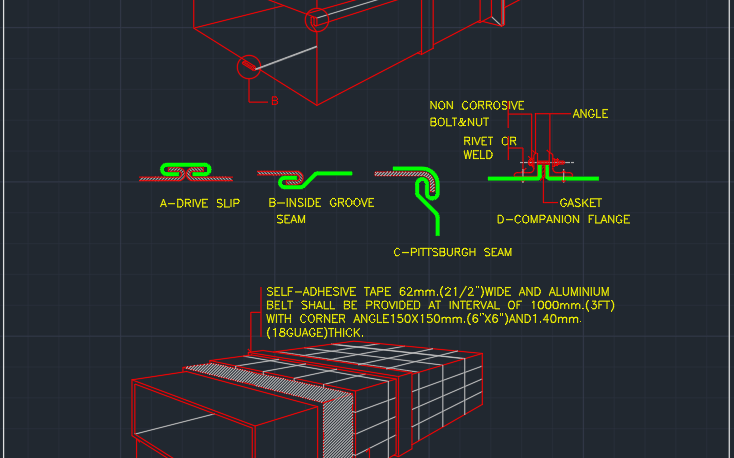 Ductwork Free Cad Block Symbols And Cad Drawing