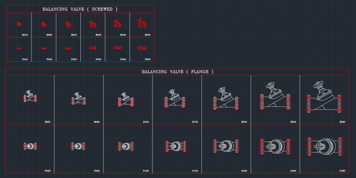 Balancing Valve Autocad Free Cad Block Symbols And Cad