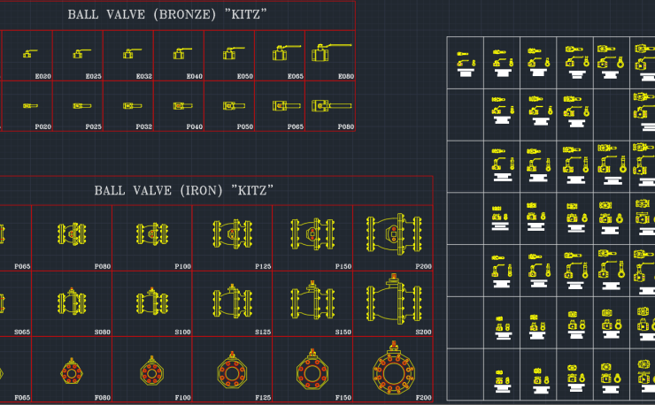 Valve Symbols Free Cad Block Symbols And Cad Drawing