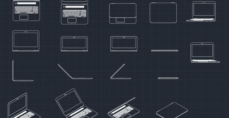 Laptops 2D