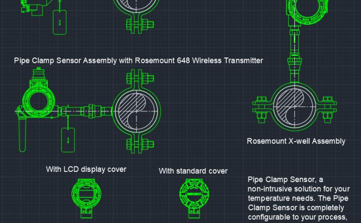 Pressure Transmitter Autocad Free Cad Block Symbols