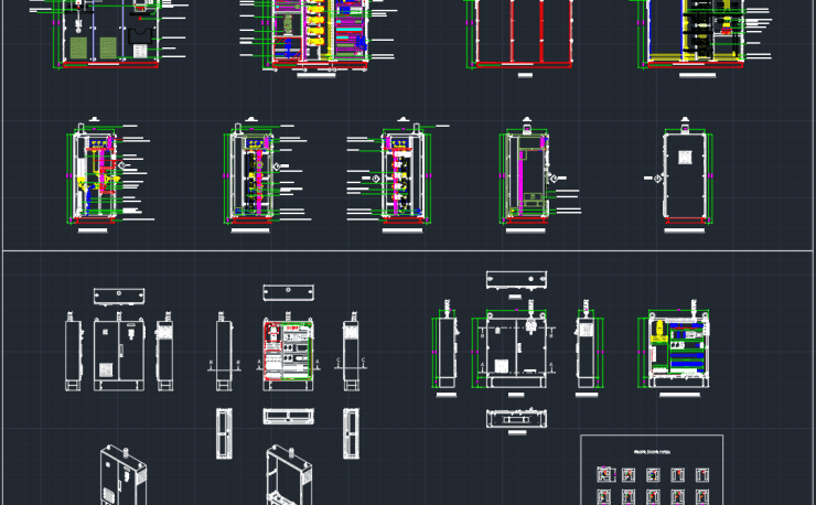 Flood Lights Cad Block And Typical Drawing For Designers
