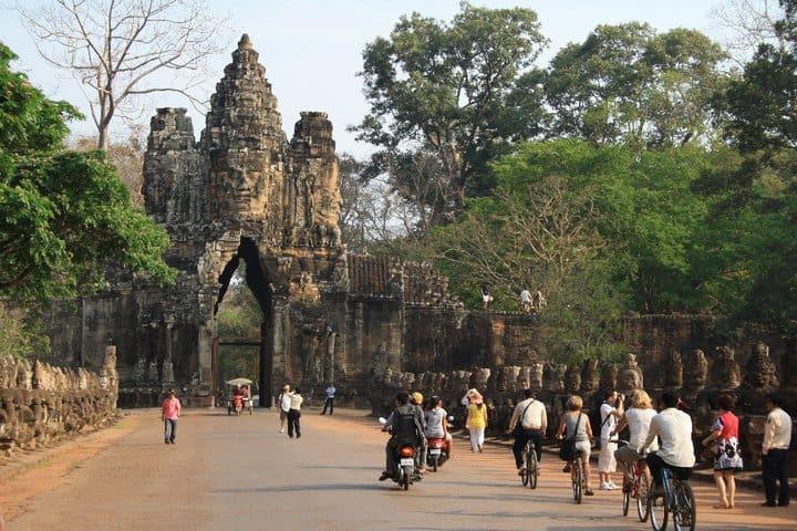 Angkor What bezoeken, Cambodja