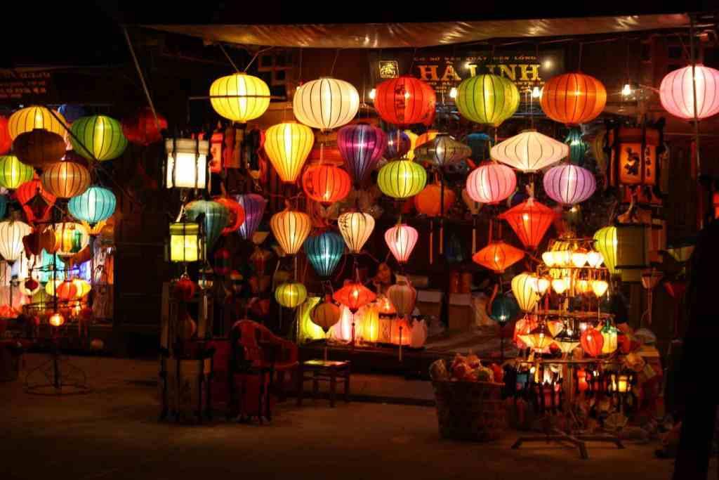 Lampionnen in Hoi An