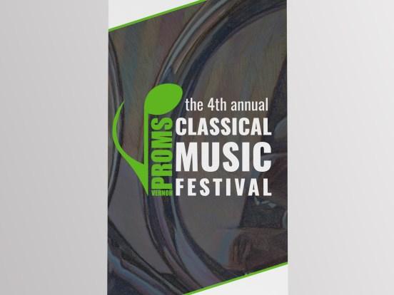 Banner for Music Festival - Vernon Proms