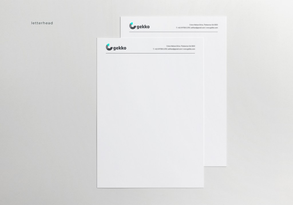 Stationery - letterhead