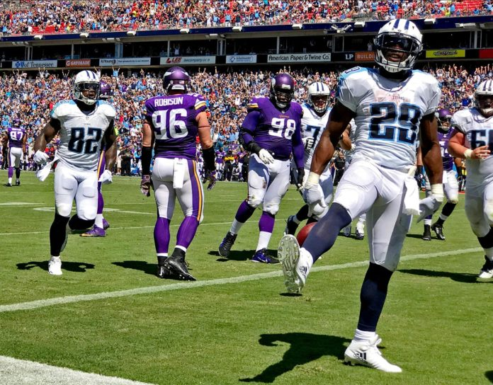 NFL: Minnesota Vikings vs Tennessee Titans NFL: Minnesota Vikings vs Tennessee Titans Nissan Stadium/Nashville, TN  09/11/2016 SI-537 TK1 Credit: David Klutho