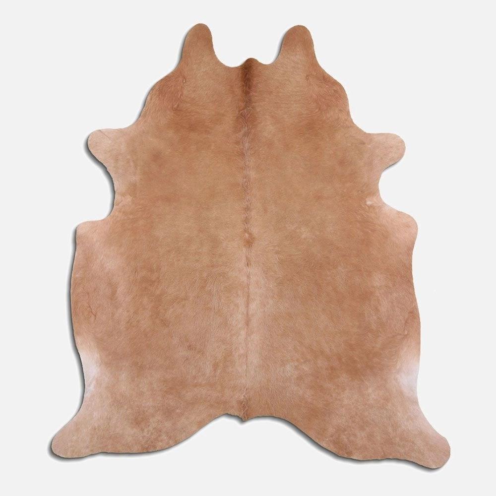 tapis peau de vache molly beige