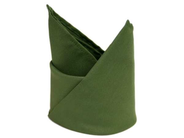 willow green polyester napkin