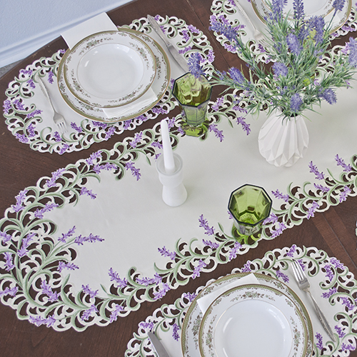make every room in the house new with fabulous table linens at knockout prices