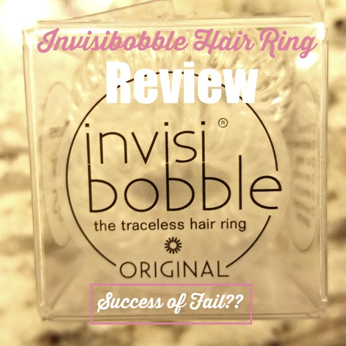 Invisibobble Hair Ring Review - Liner Lipstick Life Blog