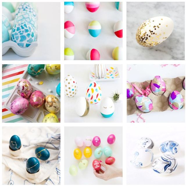 24 Modern and Creative Easter Eggs