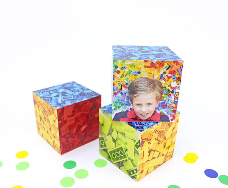 lego birthday party blocks