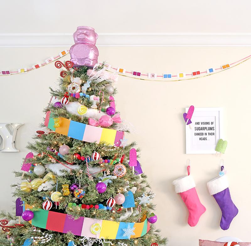 Candy Land Christmas Tree