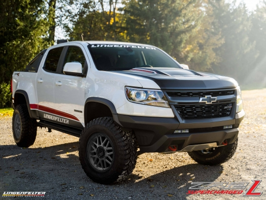 lingenfelter zr2 l edition chevy colorado 3 6 hfv6 supercharger 450 hp package