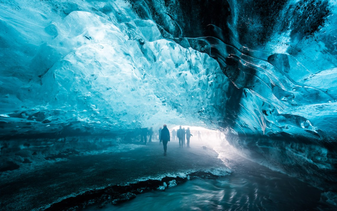 Vatnajokull Glacier, Ice Cave Tour, Iceland