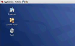 Red Hat Gnome's desktop