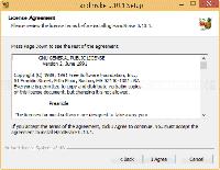 HandBrake Setup - License Agreement