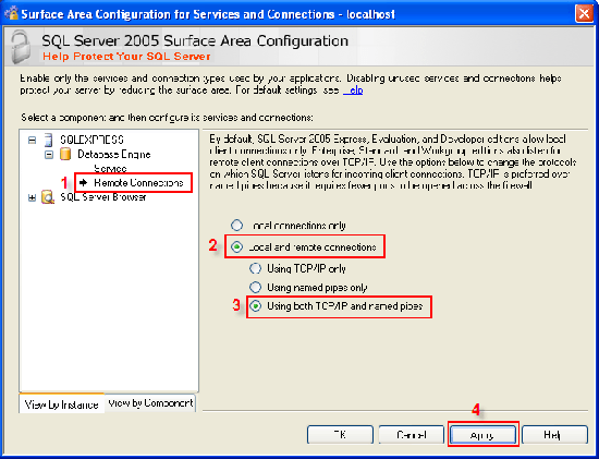 Allow remote connections