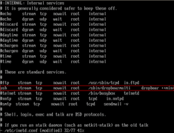 Edit Config File to Enable SSH