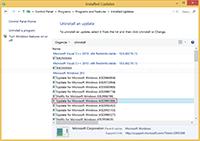Uninstall Windows 8.1 Update KB2995388