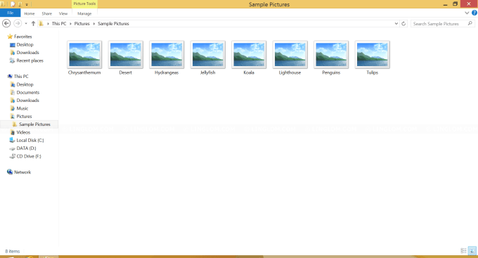 Thumbnail Previews do not show on Windows Explorer - Windows 8.1