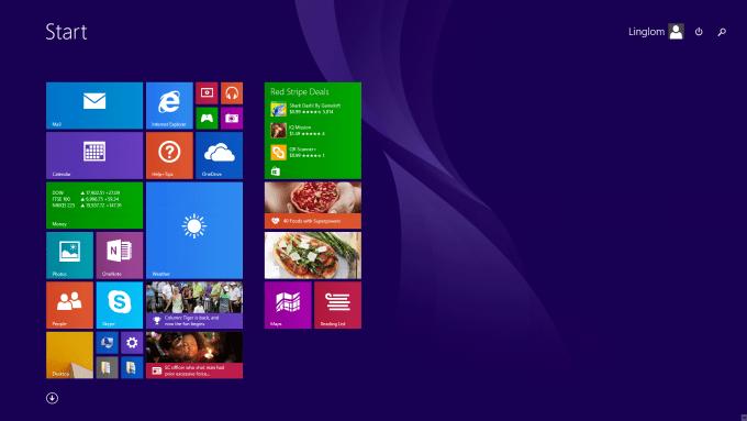 Metro style on Windows 8.1