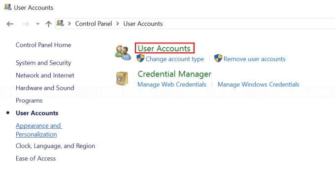Open User Accounts