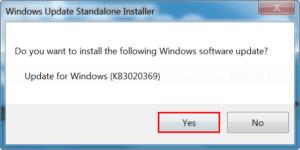 Install KB3020369