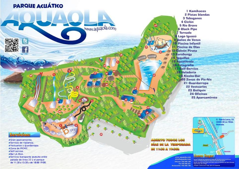 Aquaola The Best Water Park In Granada Linguaschools Com Blog